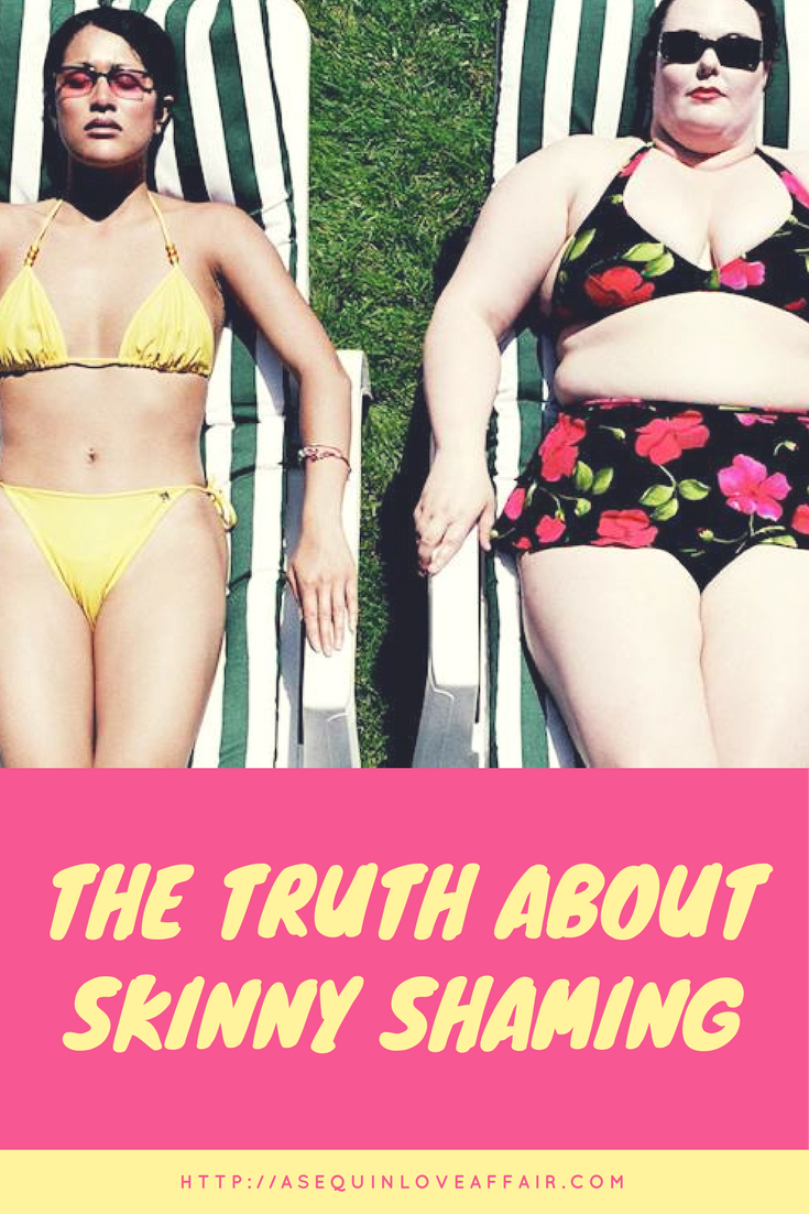 skinny shaming vs fat shaming