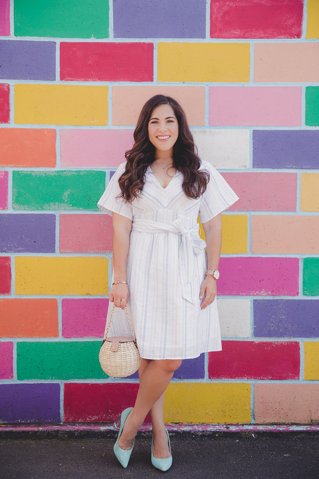 gap stripe dress