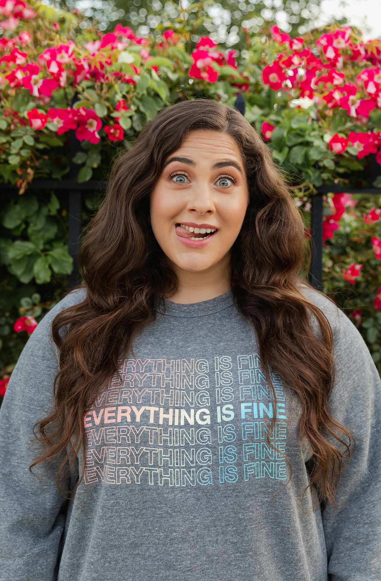 everything is fine sweatshirt